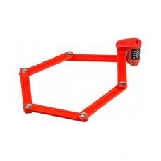 Замок велосипедний ABUS 6150/85 Bordo Combo Lite red