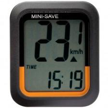 Велокомпютер O-SYNCE Minisave, Easy touch, тачскрін, чорний