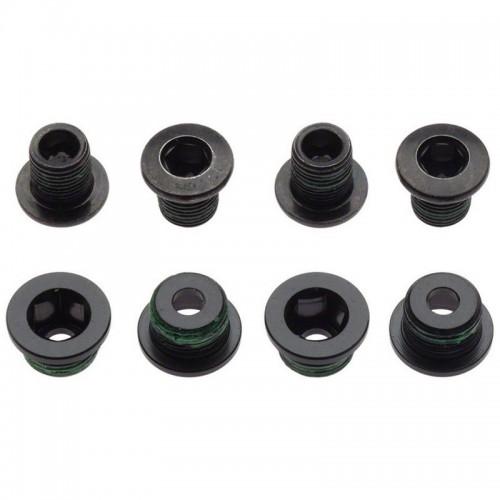 Бонки для шатунів Truvativ 4х3 Alum/SS Green