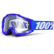 Маска 100% The Accuri Reflex Blue Clear lens