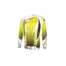 Джерсі Alpinestars A-Line Long-Sleeve M, жовто-біла