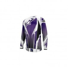 Джерсі Alpinestars A-Line Long-Sleeve M, фіолетово-біла