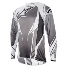 Джерсі Alpinestars A-Line Long-Sleeve S, сіро-чорна