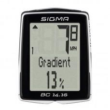 Велокомпютер BC 14.16 Sigma Sport, висотомір, SD01416