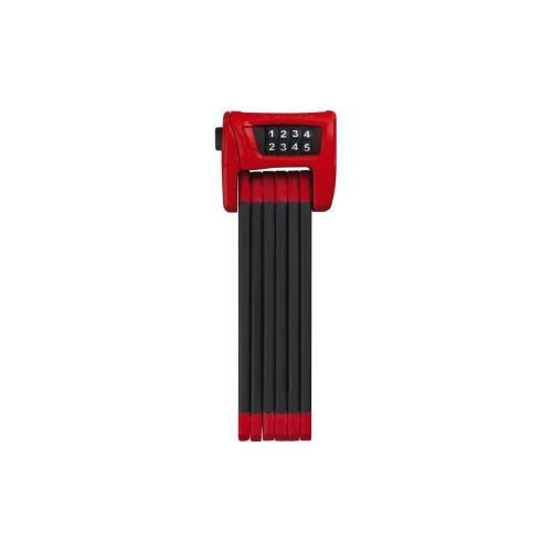 Замок велосипедний ABUS 6100\90 Bordo Combo Red ST, червоний, кодовий, 90 см