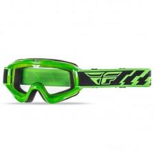 Маска Fly Racing Focus Adult Clear Lens зелена, 37-3005