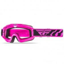 Маска Fly Racing Focus Adult Clear Lens рожева, 37-3007