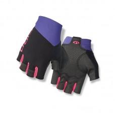 Рукавиці без пальців Giro Zero CS чорно-фіолетові L