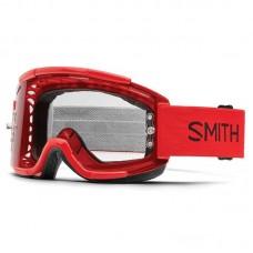 Маска Smith Optics Squad MTB Clear червона, SQB1CFIRE17