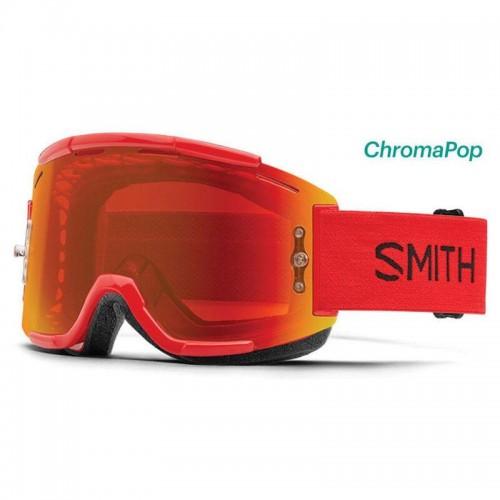 Маска Smith Optics Squad MTB ChromaPop червона (додаткова лінза), SQB1CPEFIRE17