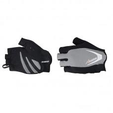 Рукавиці без пальців Avenir Serious SF сіро-чорні XS, 90-27-430