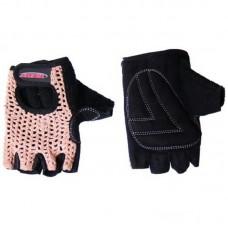 Рукавиці без пальців Avenir Crochet коричнево-чорні, 90-04-155