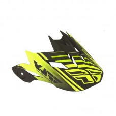 Елемент фулфейса Fly Racing Default visor, жовто-чорний
