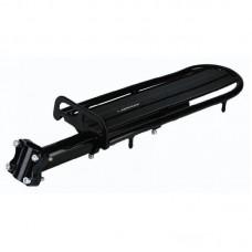 Багажник Longus (на підсиділ) алюміній чорний, 22318