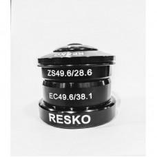 Рульова напівінтегрована RESKO A15 1.1/8-1.5 пром чорний (49.6-49.6)