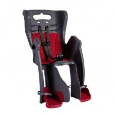 Дитяче сидіння Bellelli B1 Standart до 22кг, сіре з червоною підкладкою