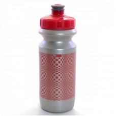 Фляга Green Cycle DOT 0.6 silver nipple/pink cap/Silver bottle