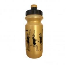 Фляга Green Cycle WORKOUT golden nipple/ black cap/ golden bottle