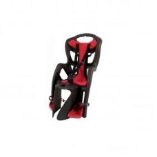 Дитяче сидіння Bellelli Pepe Standart Multifix до 22кг чорне з червоною підкладкою